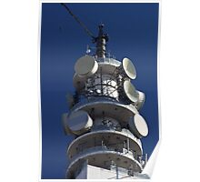 Telecom tower Poster
