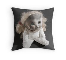 what have you been doing? Throw Pillow