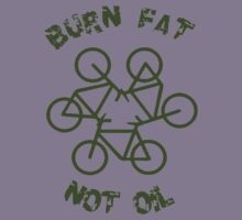 Burn Fat Not Oil - Recycle Kids Clothes