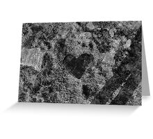 my heart's in lewis. Greeting Card
