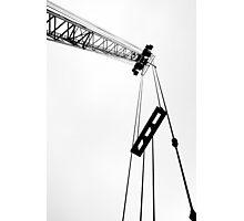 Crane Lines Photographic Print
