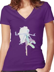 Opal Women's Fitted V-Neck T-Shirt