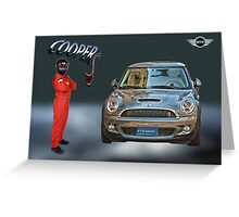 Mini Cooper S Greeting Card