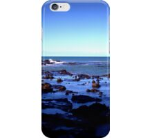 Winter Rockpools iPhone Case/Skin