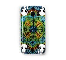 Tie Dye Alien Salute Samsung Galaxy Case/Skin