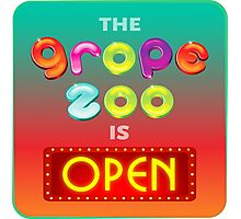 The Grope Zoo Is Open Photographic Print