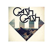 Cash Cash Photographic Print
