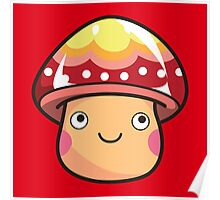 Yupper Mushroom Poster