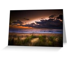 Sunrise, Kill Devil Hills Greeting Card