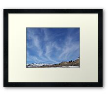 Mare's Tails Framed Print