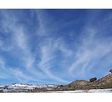 Mare's Tails Photographic Print