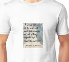 Paper Towns Quote by John green Unisex T-Shirt