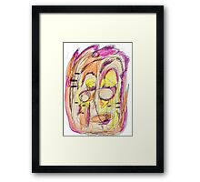 sad man Framed Print