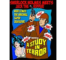 Sherlock Holmes - A Study in Terror. Photographic Print