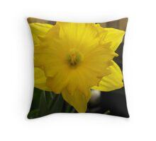 Yellow Wonder Throw Pillow