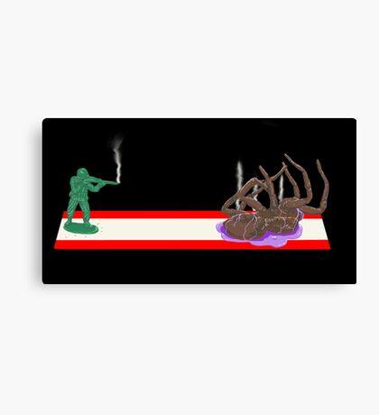 Spider Slayer Canvas Print