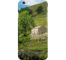 Barn in Wharfedale in the Yorkshire Dales iPhone Case/Skin