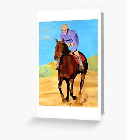 Beach Rider Greeting Card