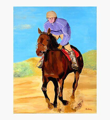 Beach Rider Photographic Print
