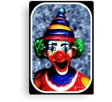 Not Just Another Clown Canvas Print