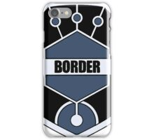 World Trigger - Border Logo iPhone Case/Skin