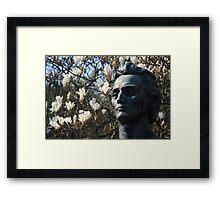Bust in St Steven's Green, Dublin. Framed Print