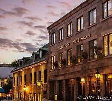 Walk Thru Place Jacques-Cartier  by Marie  Cardona
