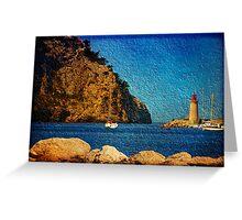 Port Andraitx Mallorca Greeting Card