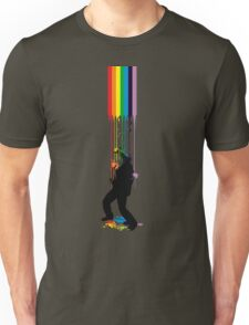 Somewhere Over the Rainbow - Someone's Getting Wet Unisex T-Shirt