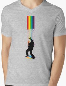 Somewhere Over the Rainbow - Someone's Getting Wet Mens V-Neck T-Shirt