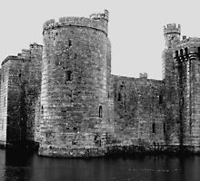 Bodiam Castle by Kim Slater