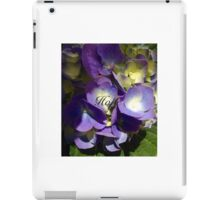 Hope- Flowers iPad Case/Skin