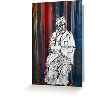 Grafitti Greeting Card