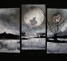 Three Worlds In One/ Split Plains by linmarie