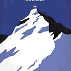 No492 My Everest minimal movie poster by JiLong