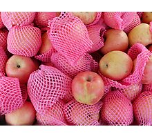 Food - delicate apples Photographic Print