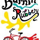 Burnin' Rubber ll - card by Andi Bird