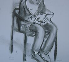 Martha is reading by Catrin Stahl-Szarka
