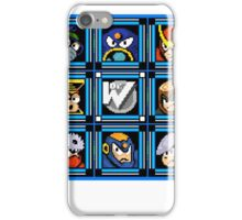 Megaman 2 Boss Select iPhone Case/Skin