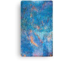 Blue Flame Landscape Canvas Print