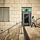 Door Into The Blue by Frank Waechter