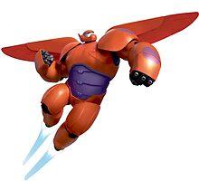 Baymax super heroes by BellaArtwork