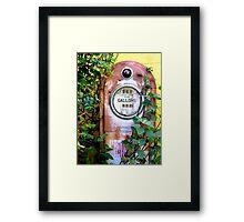 Before a Dalek reincarnation... Framed Print