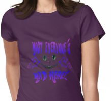 """""""Any road will get you there"""" Womens Fitted T-Shirt"""