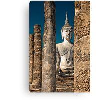 ancient stone, ancient wisdom Canvas Print