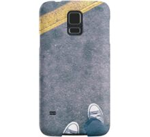 Stand Behind the Yellow Line Samsung Galaxy Case/Skin
