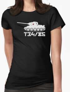 T34-85 Womens Fitted T-Shirt