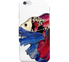 The Dance of the Fighting Fish iPhone Case/Skin