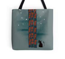 Animal's Nightlife - Urban Cat Tote Bag