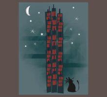 Urban Cat One Piece - Short Sleeve
